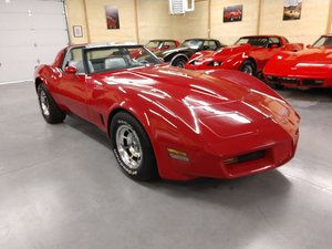 1981 Red Corvette Silver Interior 345Hp