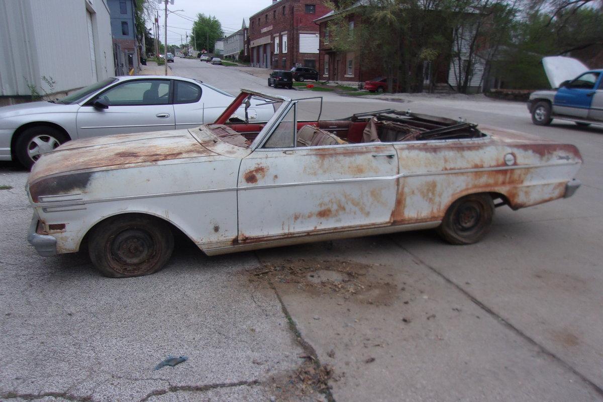 1962 Chevrolet Nova Convertible $2000 USD For Sale (picture 3 of 6)