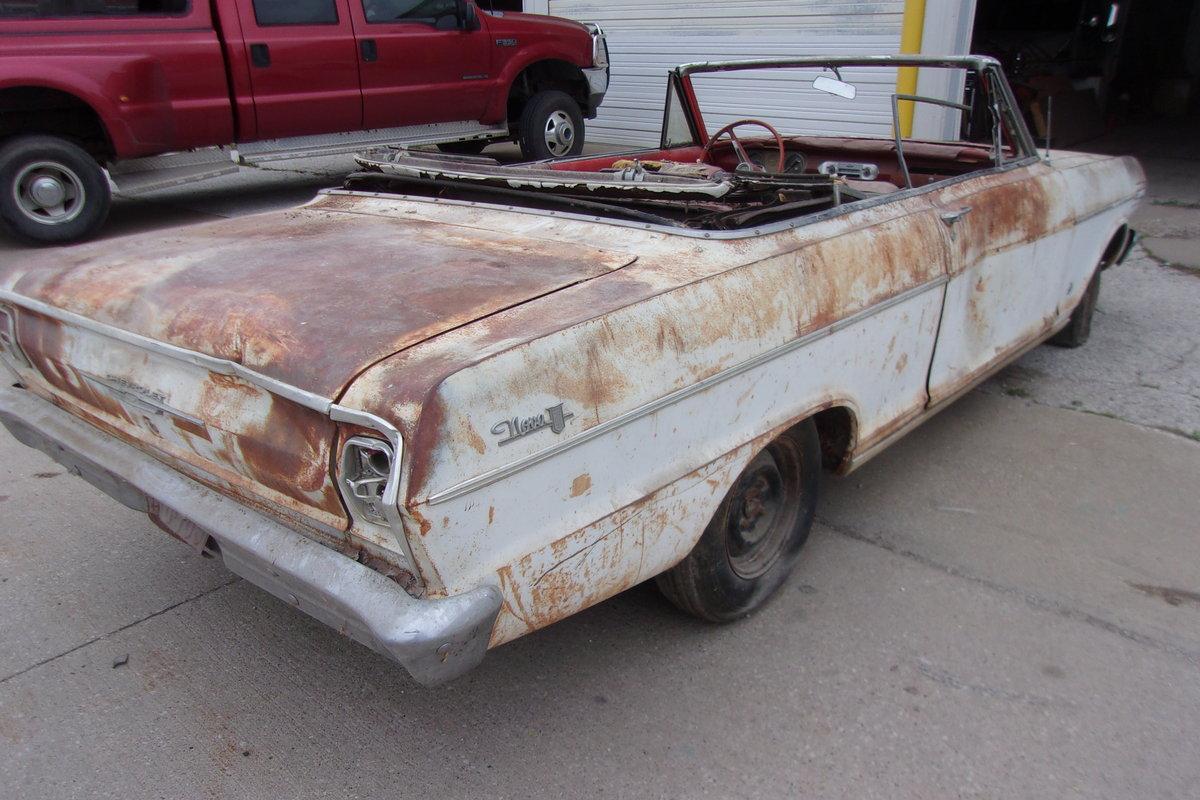 1962 Chevrolet Nova Convertible $2000 USD For Sale (picture 5 of 6)