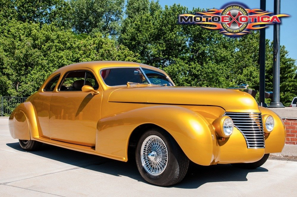1940 LaSalle Custom Coupe = 350 LT1 FI Auto AC mods $31.5k For Sale (picture 1 of 6)