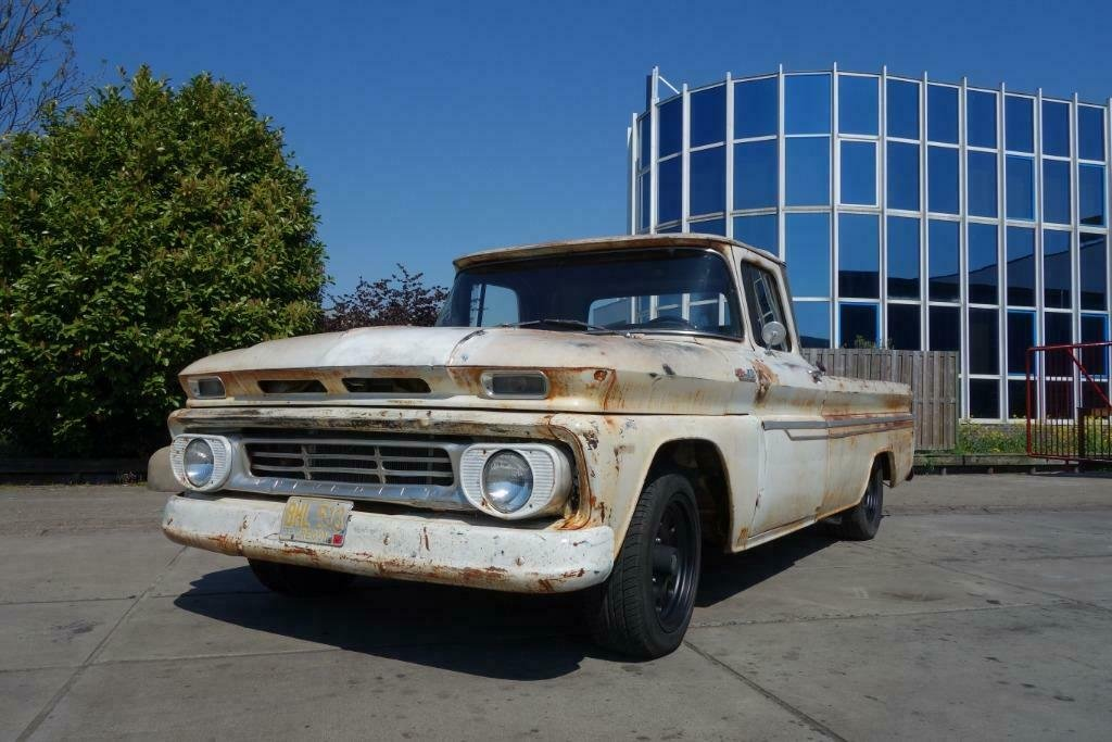 1962 Chevrolet C10 V8 Pickup GREAT PATINA! For Sale (picture 2 of 6)