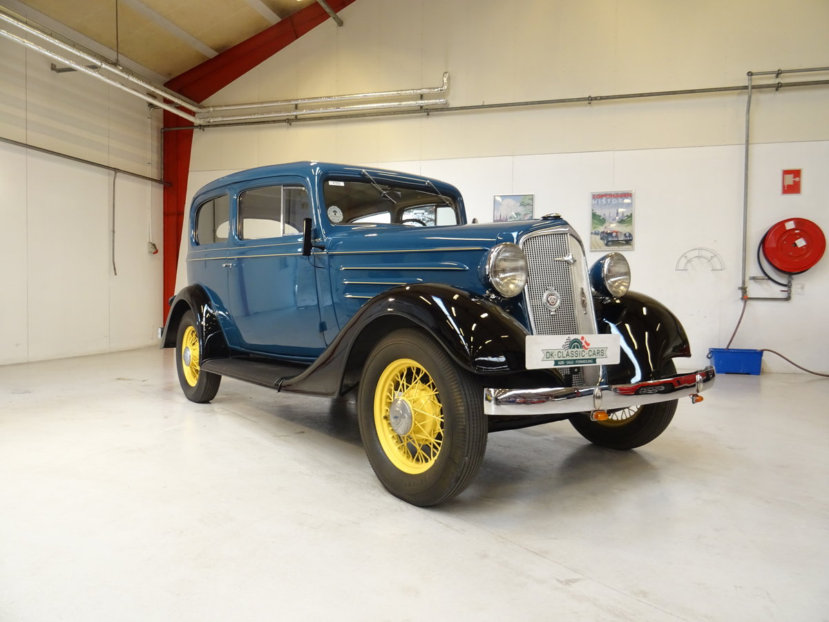 1933 Chevrolet 2/5P Mercury CC (Chevrolet Standard Six) For Sale (picture 1 of 6)