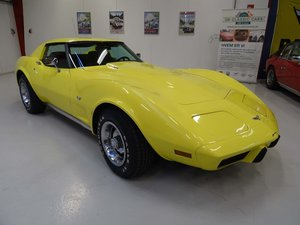 1977  Chevrolet Corvette C3 Coupe – L82 - Automatic