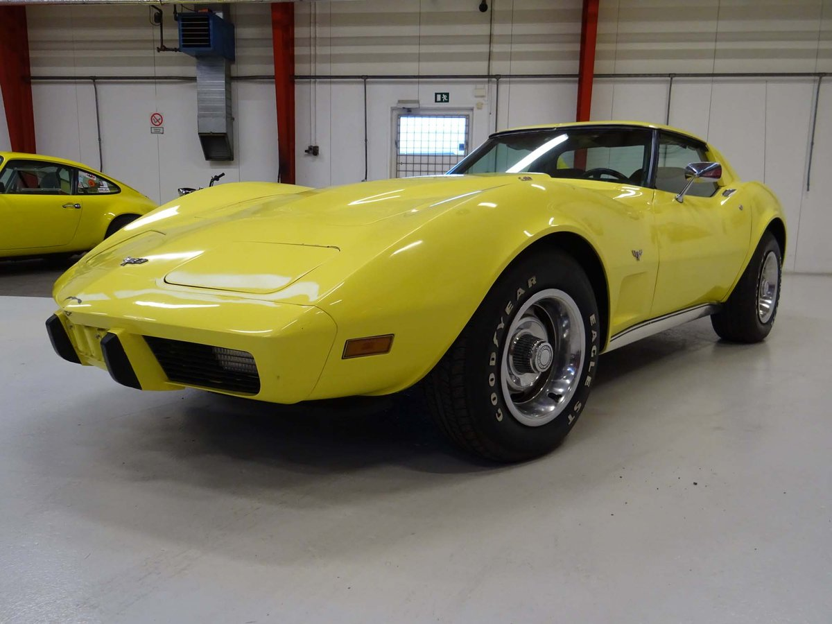 1977 Chevrolet Corvette C3 Coupe – L82 - Automatic For Sale (picture 2 of 6)
