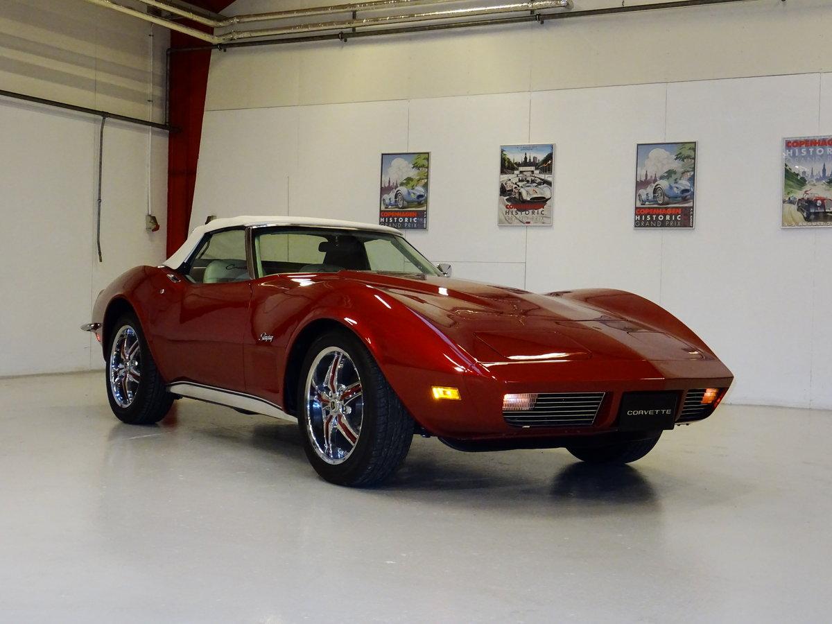 1973 Corvette Convertible C3 - complete body-off restoration For Sale (picture 1 of 6)