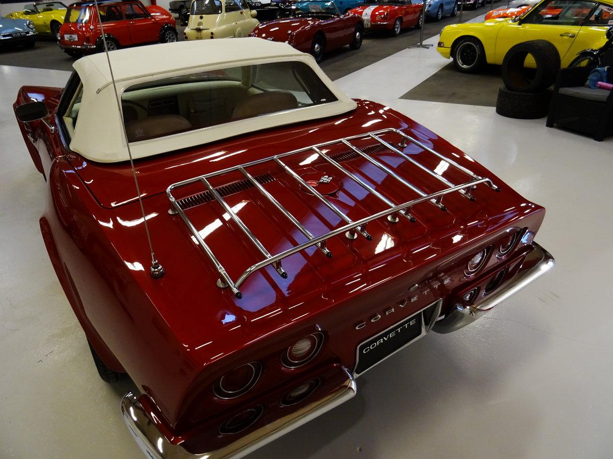 1973 Corvette Convertible C3 - complete body-off restoration For Sale (picture 2 of 6)