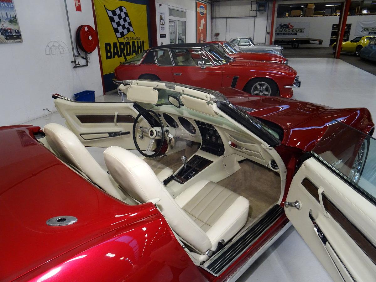 1973 Corvette Convertible C3 - complete body-off restoration For Sale (picture 4 of 6)