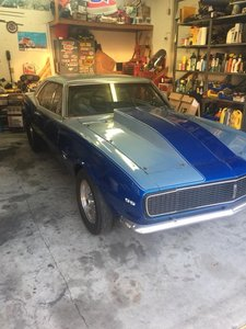 1967 Chevrolet Camaro (Williamstown, NJ) $28,500 obo