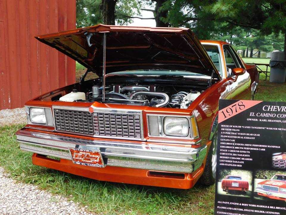 1978 Chevrolet El Camino (Lexington, KY) $22,500 obo For Sale (picture 5 of 6)