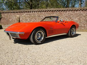 1969 Corvette C3 Convertible matching numbers and colours, manual For Sale