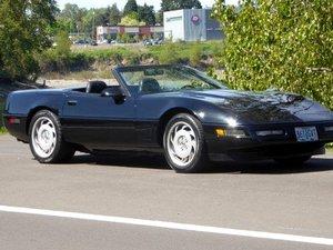 1995 Chevy Corvette Roadster Convertible Manual Black $12.5k For Sale