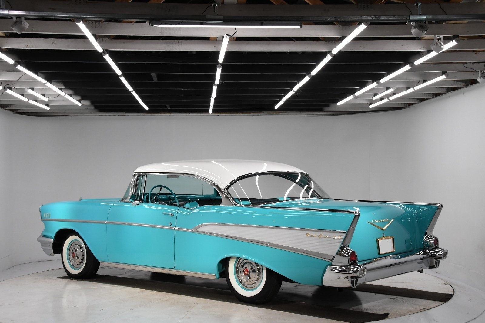 1957 Chevrolet Bel Air 2DR HT For Sale (picture 2 of 6)