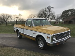 Picture of 1972 CHEVROLET 1/2-TON PICKUP SUPER CHEYENNE BB 400 AC PS PB SOLD
