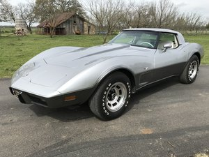 1978 CHEVROLET CORVETTE SILVER ANNIVERSARY COLLECTOR'S EDITI For Sale