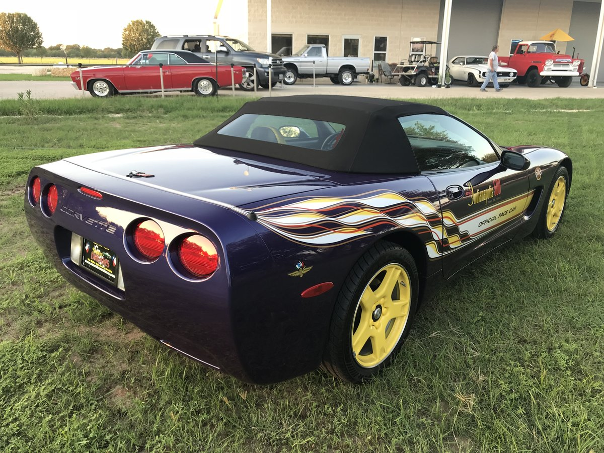 1998 CHEVROLET CORVETTE 2567 ACTUAL MILE PACE CAR CONVERTIBL For Sale (picture 2 of 6)