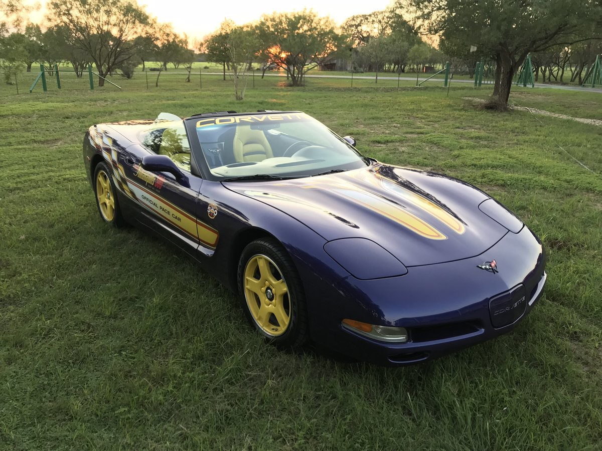 1998 CHEVROLET CORVETTE 2567 ACTUAL MILE PACE CAR CONVERTIBL For Sale (picture 6 of 6)