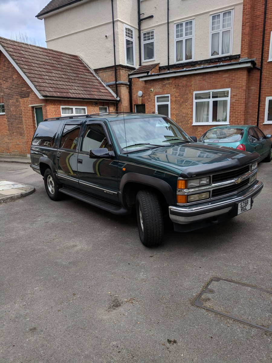 1999 Chevrolet Suburban SOLD (picture 1 of 6)