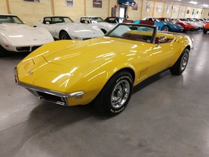 Picture of 1968 Yellow Corvette Convertible Automatic For Sale