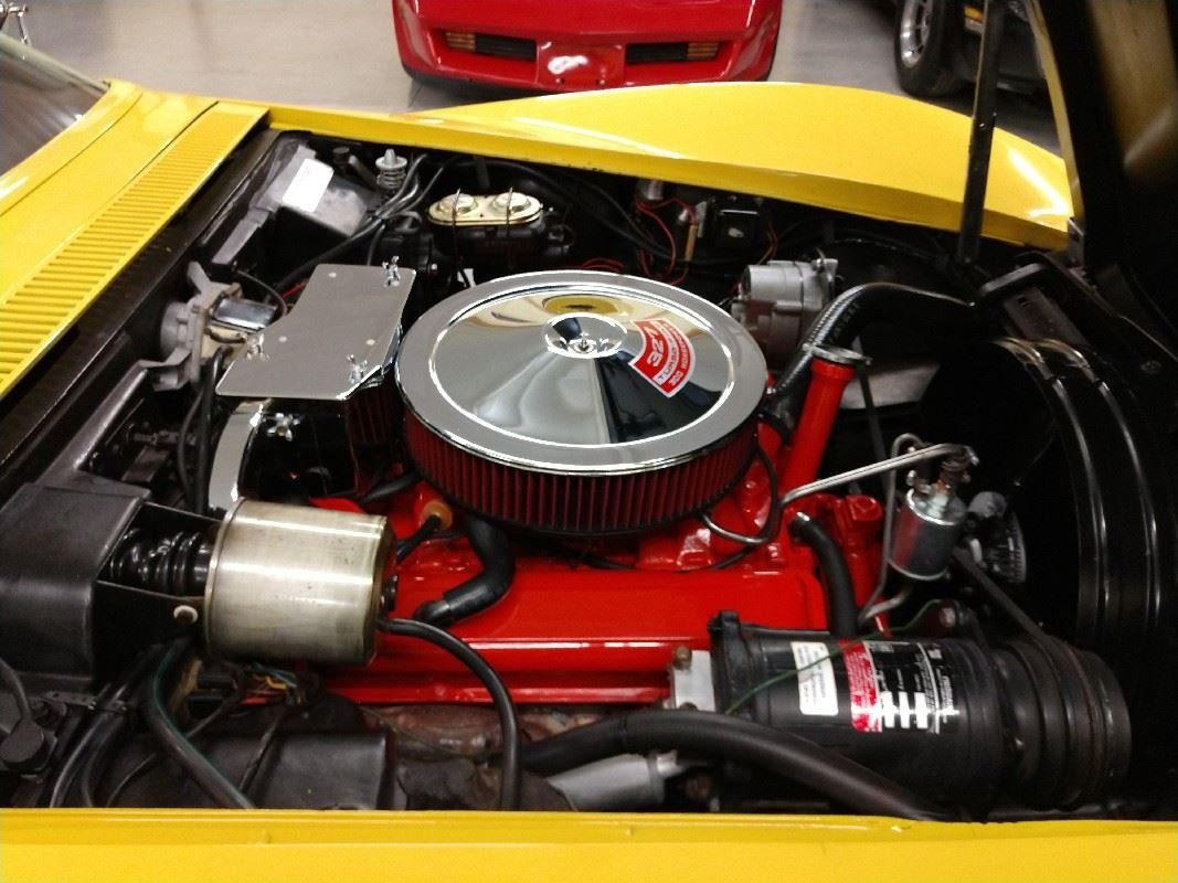 1968 Yellow Corvette Convertible Automatic For Sale (picture 5 of 6)