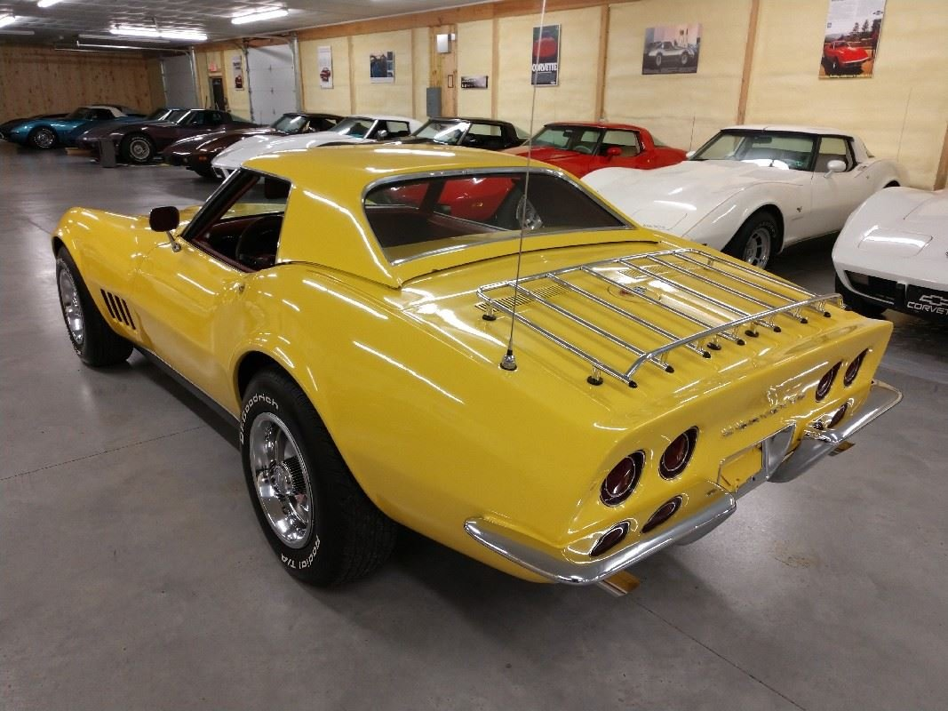1968 Yellow Corvette Convertible Automatic For Sale (picture 6 of 6)