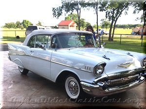 Numbers Matching 1957 Chevrolet Convertible 83000 Original M For Sale