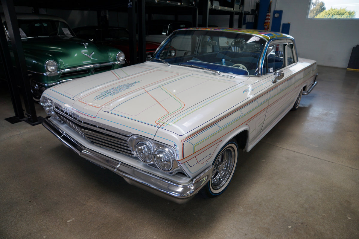 1962 Chevrolet Bel Air Custom 2 Dr Sedan For Sale (picture 1 of 6)