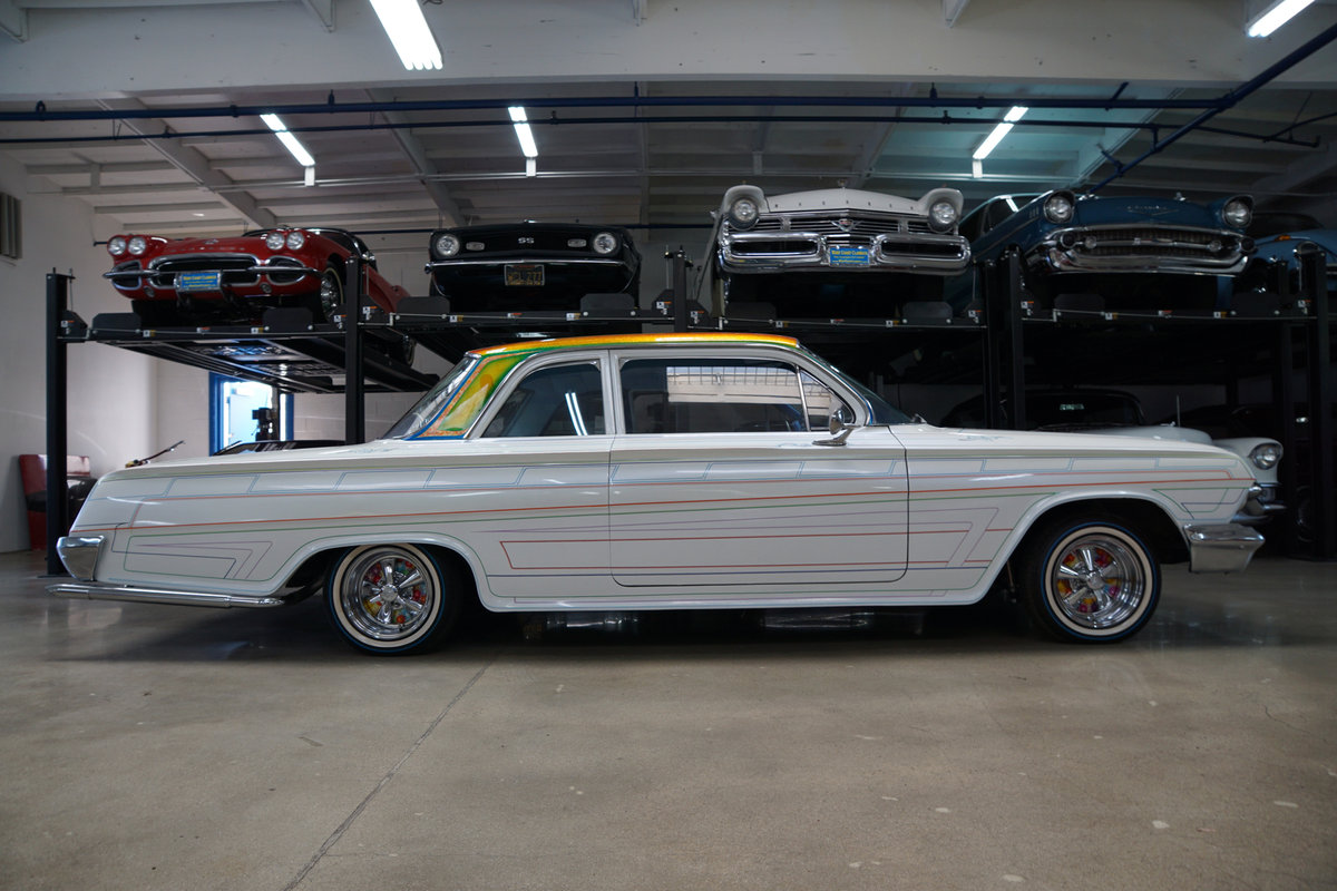 1962 Chevrolet Bel Air Custom 2 Dr Sedan For Sale (picture 3 of 6)