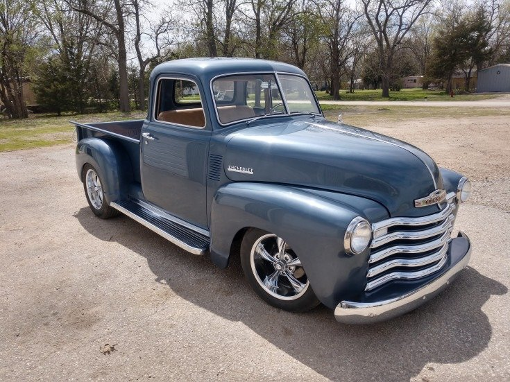 1949 Chevrolet 5 window short bed pickup For Sale (picture 1 of 6)