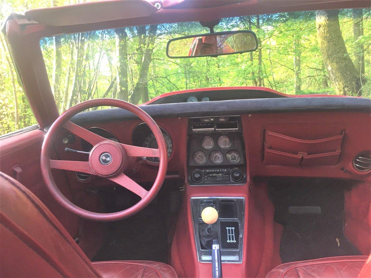 1976 Chevrolet Corvette Stingray, C3 For Sale (picture 5 of 6)