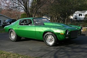 1971 Chevrolet Camaro Drag Car (Fayetteville, Pa) $22,500 For Sale