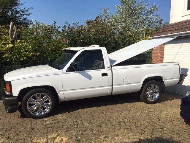 1992 Chevrolet C1500 Cheyenne Pickup For Sale (picture 1 of 6)