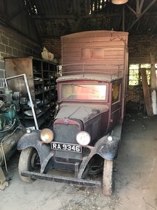 1929 Barn find Chevrolet cattle truck