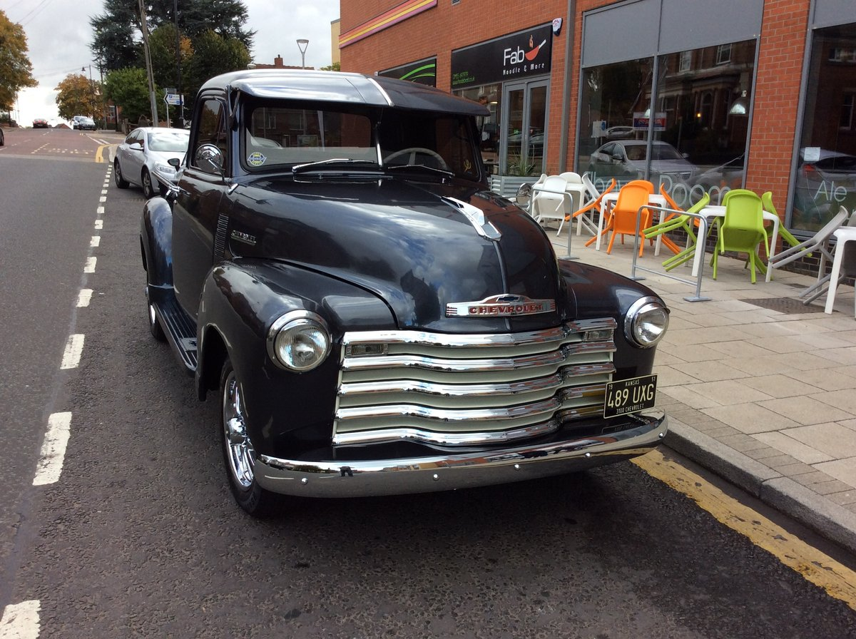 1951 Chevy 3100 Stepside Flatbed Truck For Sale (picture 1 of 4)