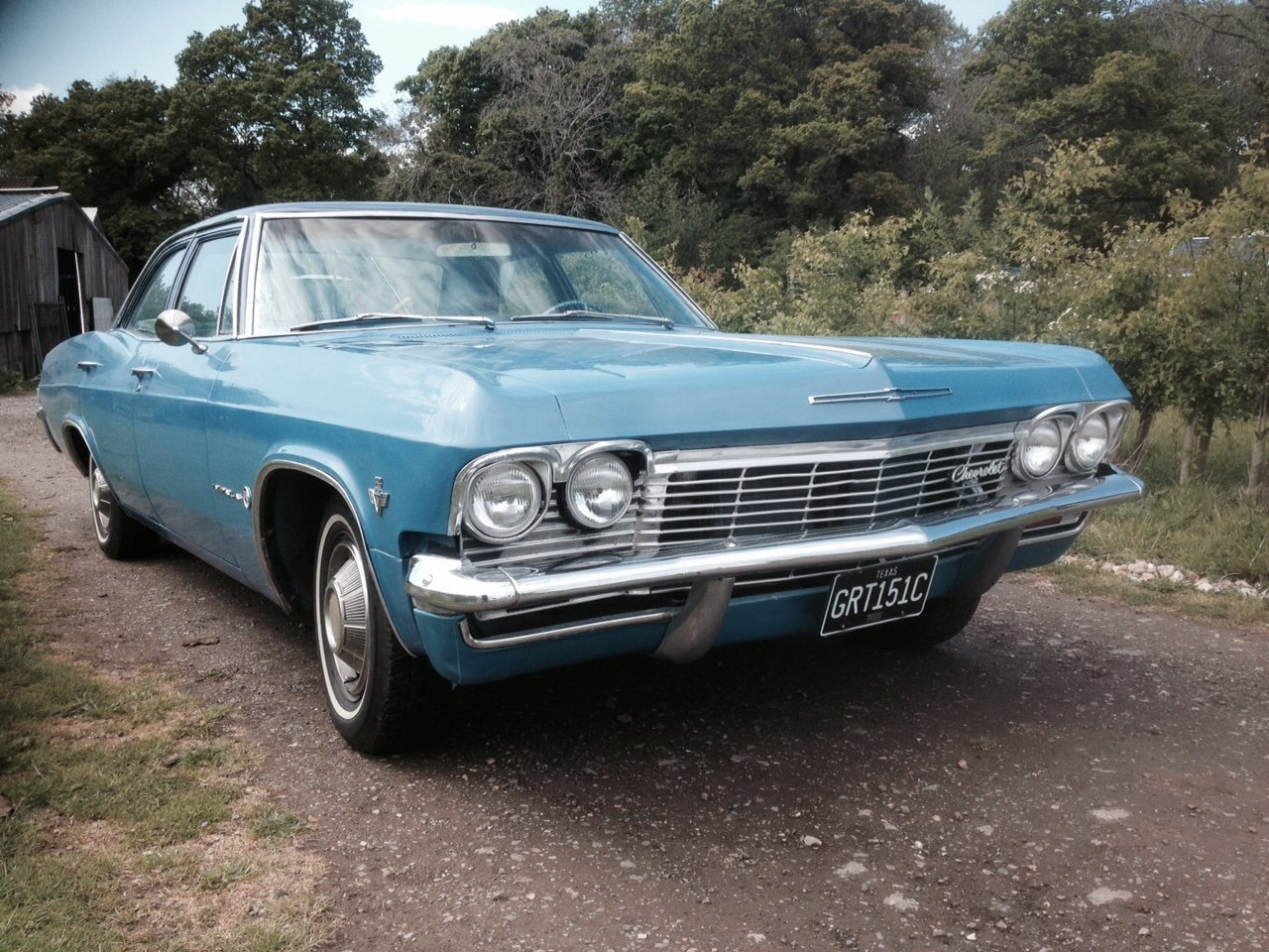 1965 IMPALA V8 AUTO TEXAS CAR IN UK V5 For Sale (picture 1 of 6)