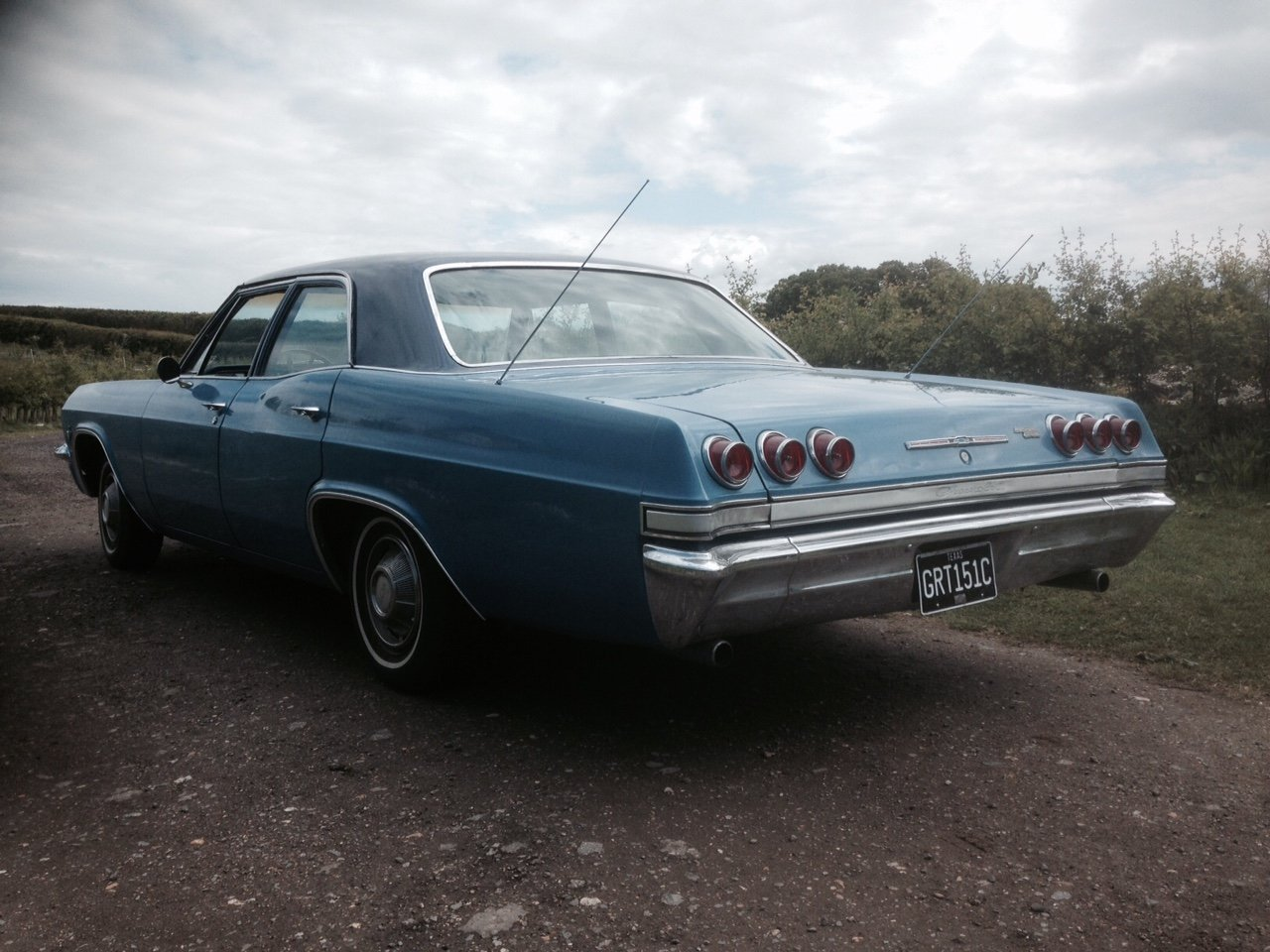 1965 IMPALA V8 AUTO TEXAS CAR IN UK V5 For Sale (picture 6 of 6)