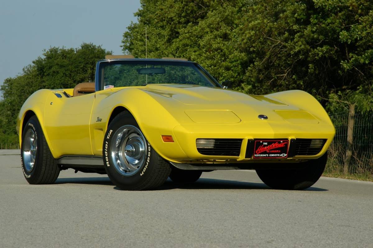 1975 corvette Stingray Convertible For Sale (picture 1 of 6)