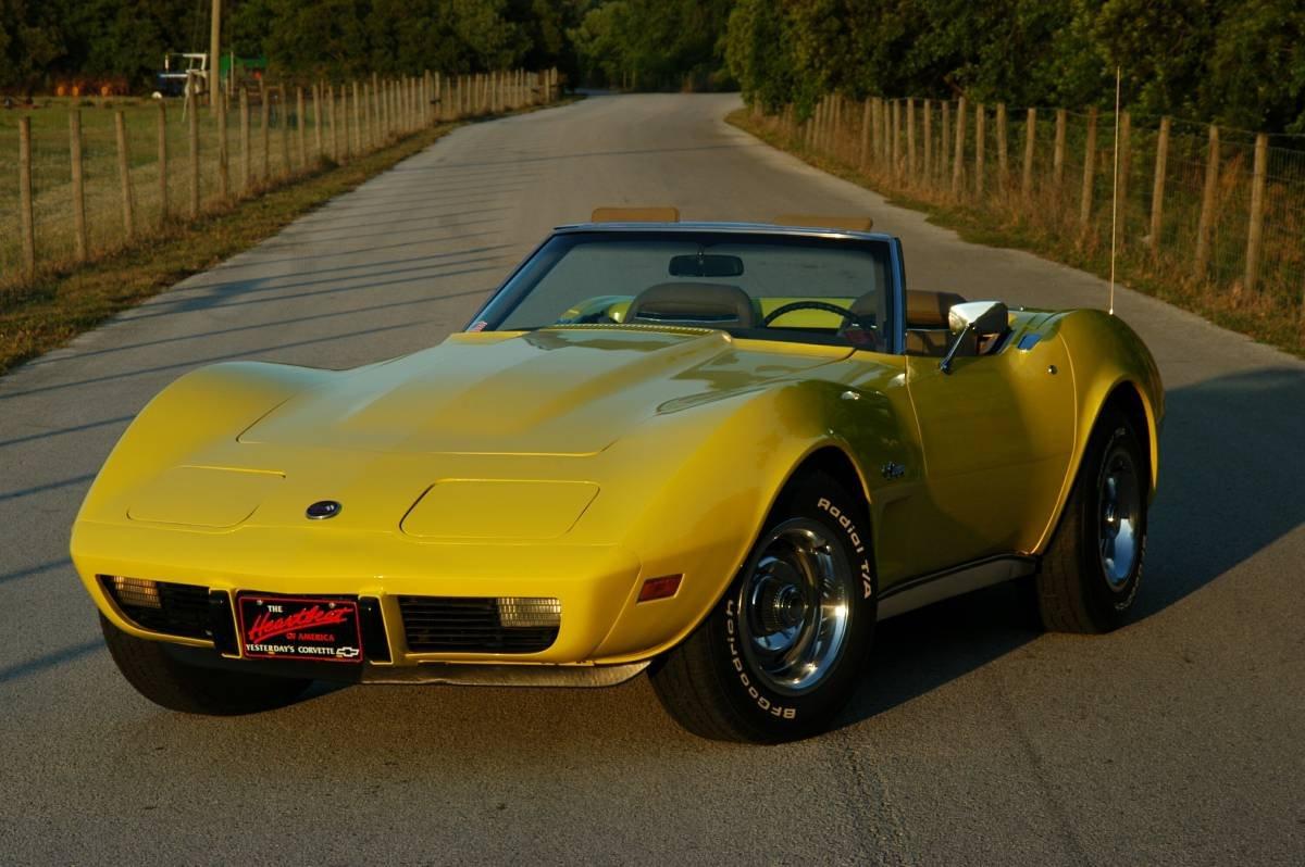 1975 corvette Stingray Convertible For Sale (picture 2 of 6)