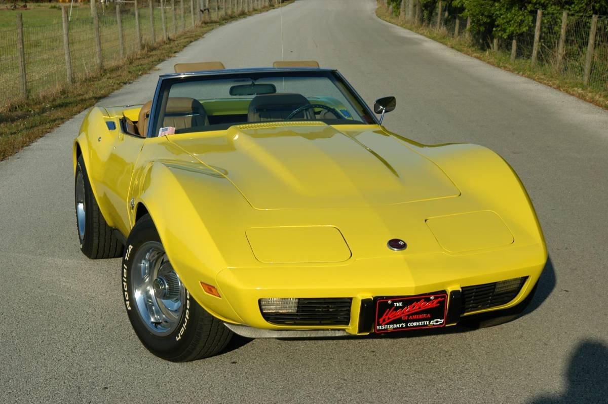 1975 corvette Stingray Convertible For Sale (picture 3 of 6)