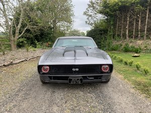 1967 Shadow Grey Camaro 383 Stroker 4 Speed For Sale