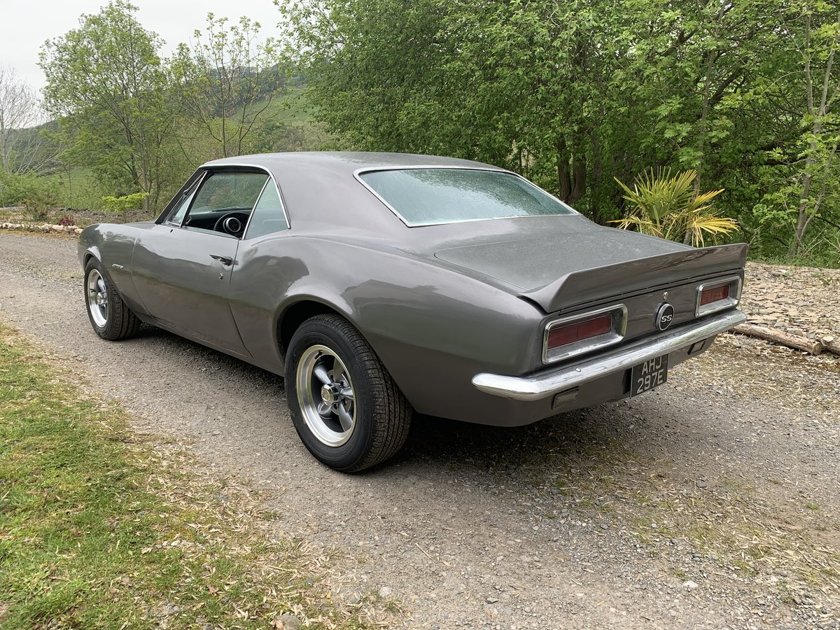 1967 Shadow Grey Camaro 383 Stroker 4 Speed For Sale (picture 2 of 3)