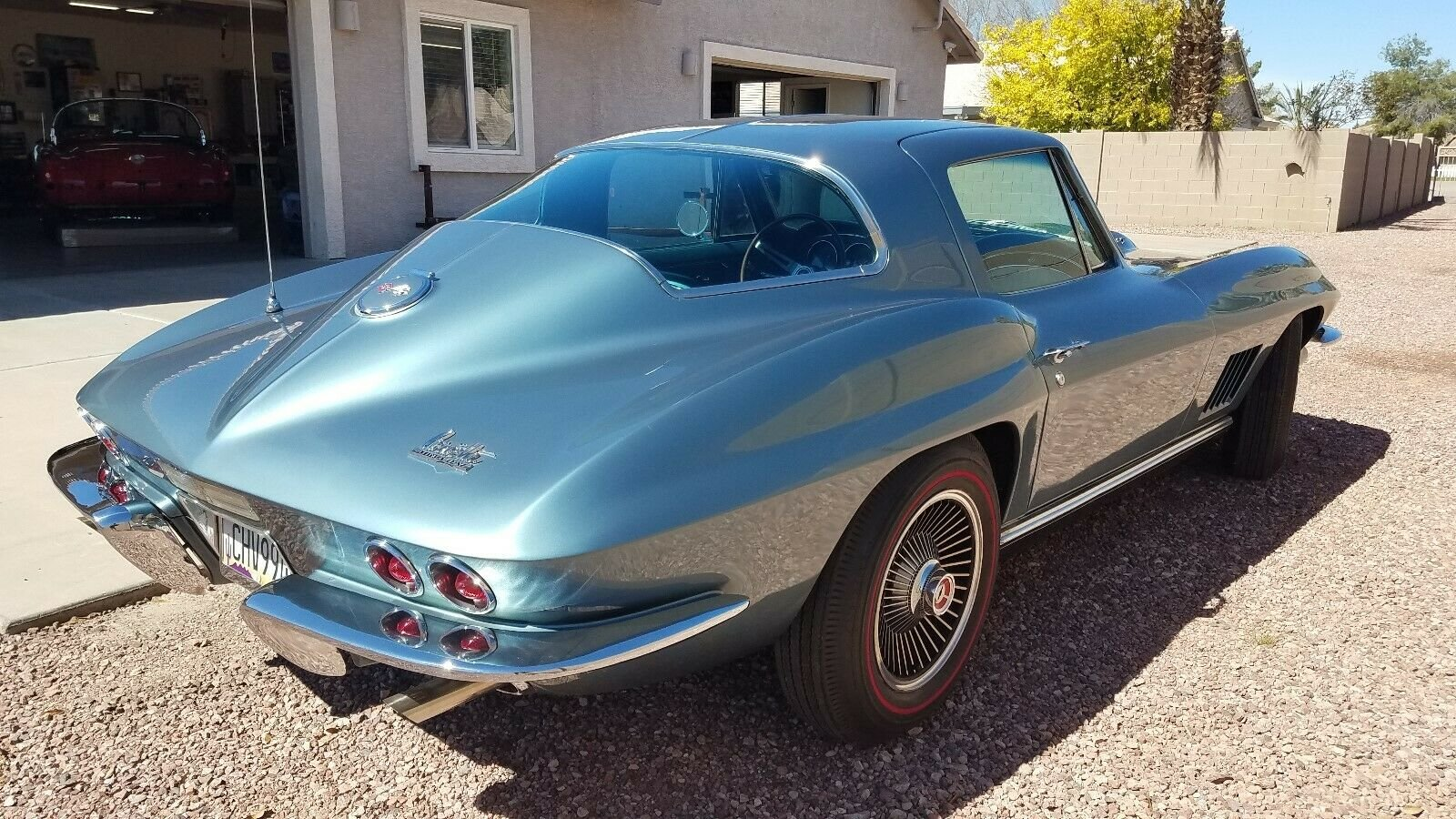 1967 Corvette coupe L71 427cui V8 - Tri carb 4 speed ! For Sale (picture 3 of 6)