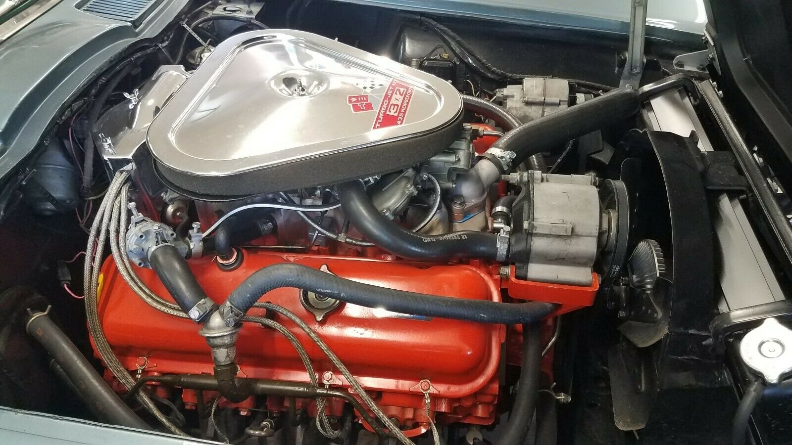 1967 Corvette coupe L71 427cui V8 - Tri carb 4 speed ! For Sale (picture 4 of 6)