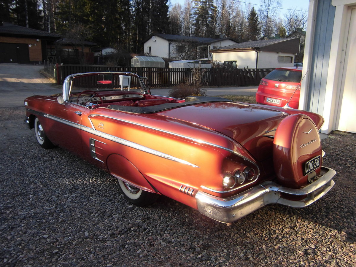 1958 Impala Convertible For Sale (picture 1 of 6)