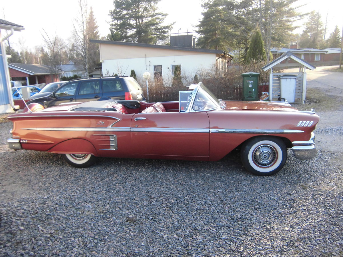 1958 Impala Convertible For Sale (picture 4 of 6)