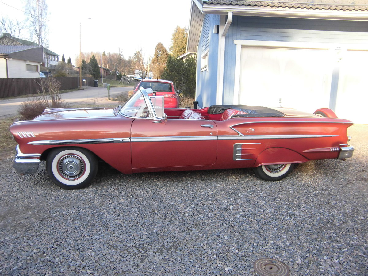 1958 Impala Convertible For Sale (picture 5 of 6)