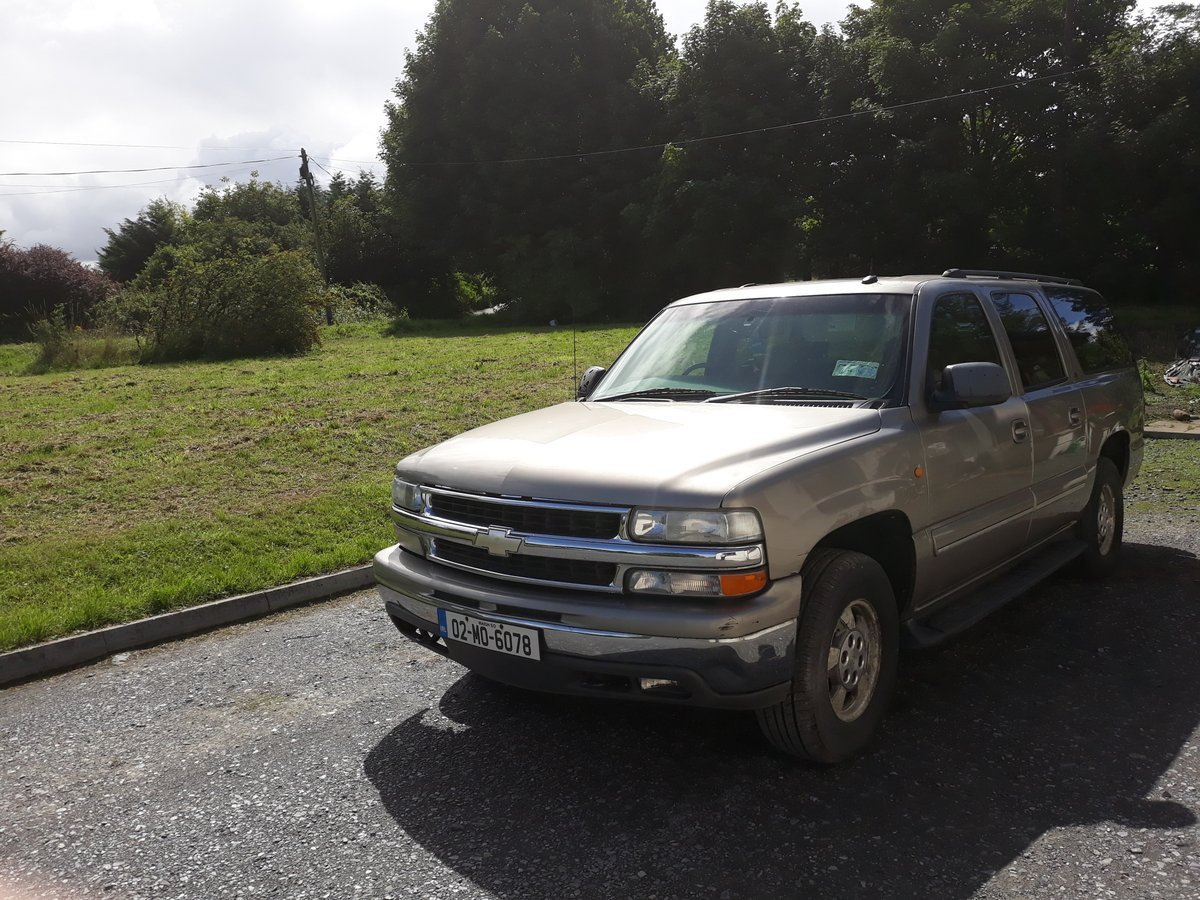2002 Chevrolet Suburban 4wd RHD  For Sale (picture 6 of 6)