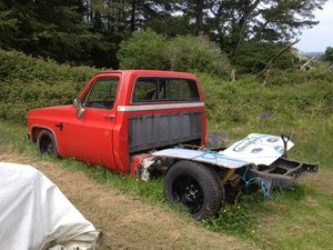 1985 Chevrolet C10 SWB Pick UP (small project Fleetside For Sale