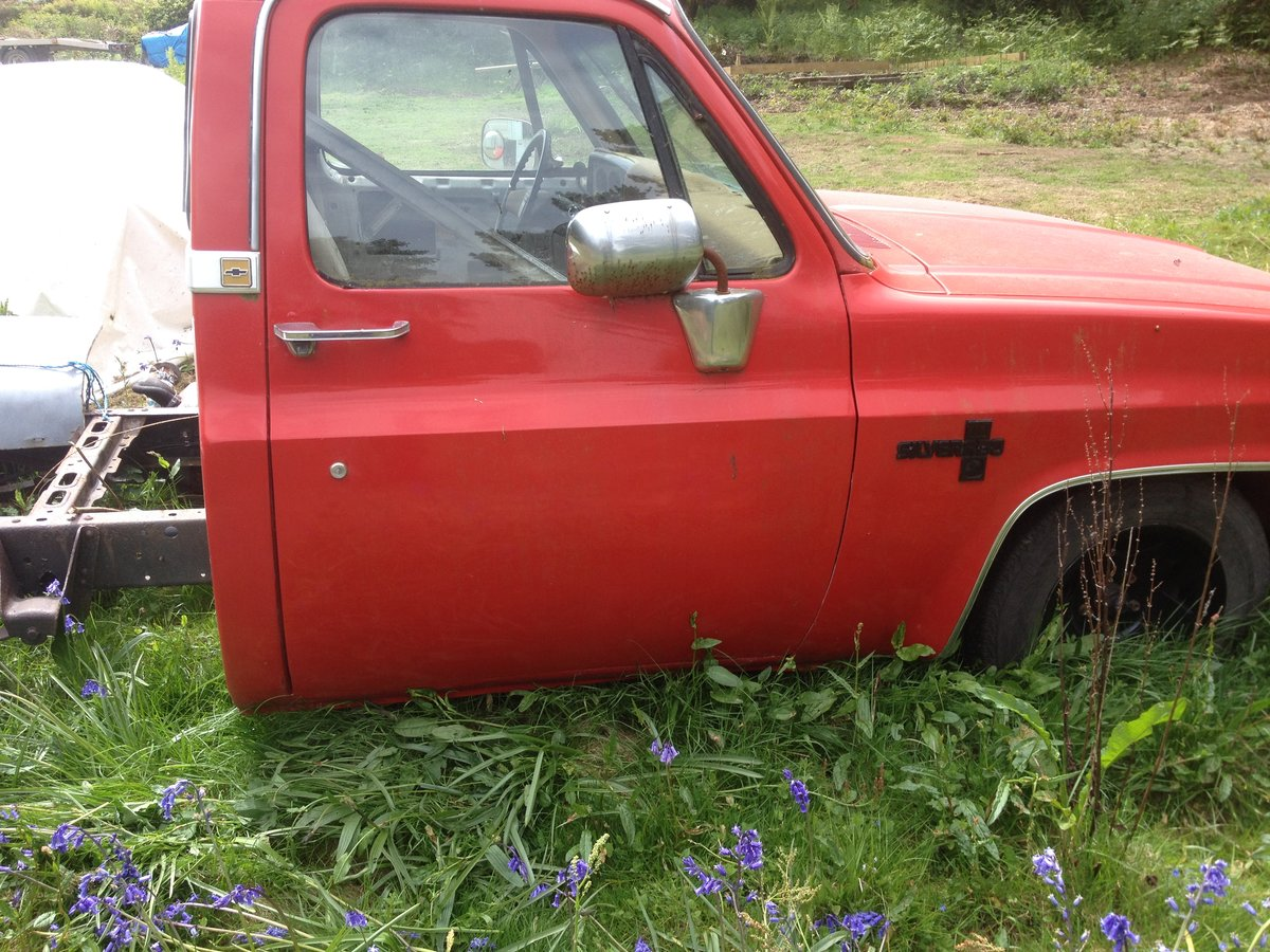 1985 Chevrolet C10 SWB Pick UP (small project Fleetside For Sale (picture 2 of 6)