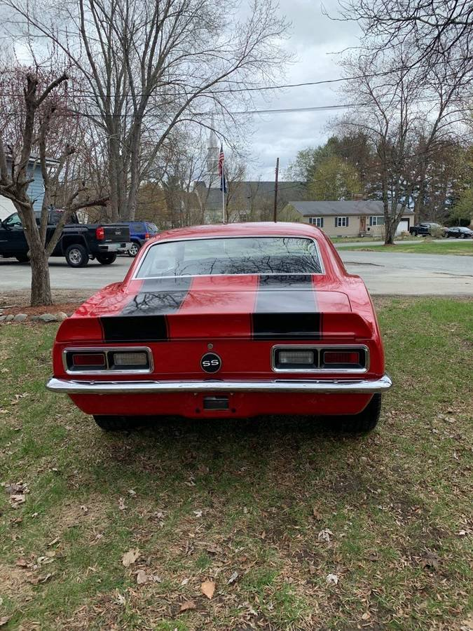 1968 Chevrolet Camaro SS Clone For Sale (picture 4 of 6)