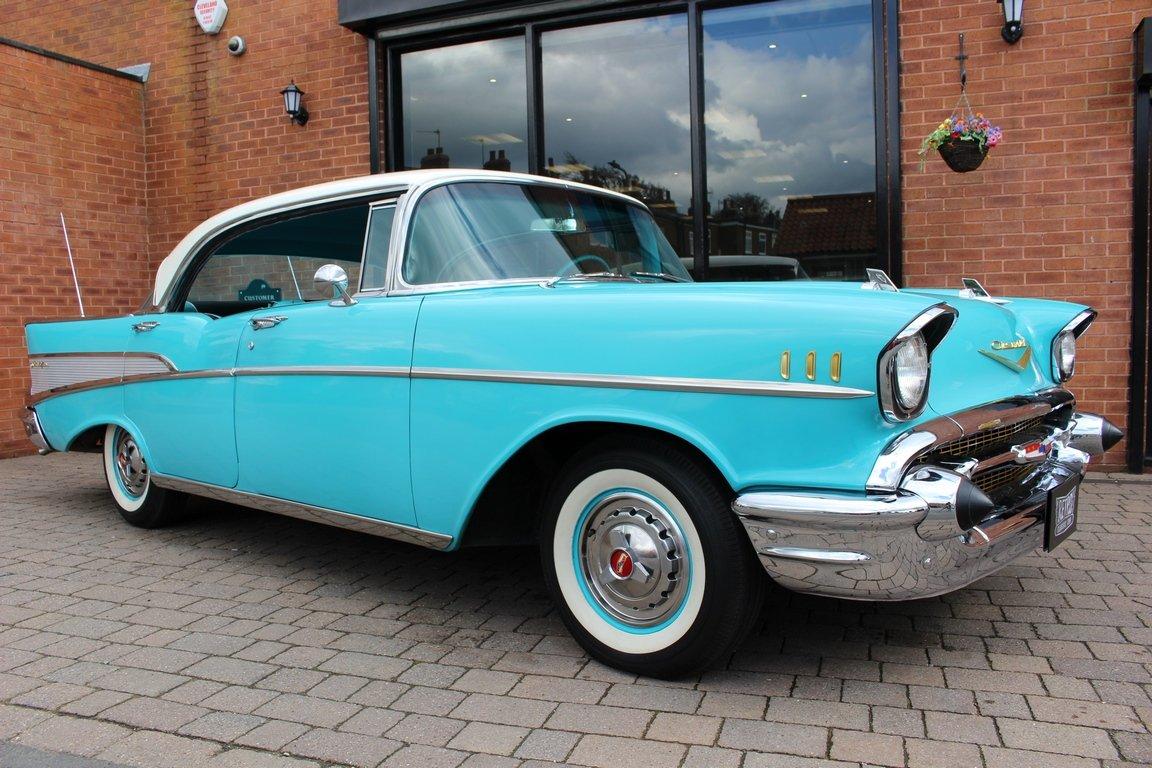 1957 Chevrolet Bel-Air 283 V8 - SOLD (picture 1 of 6)